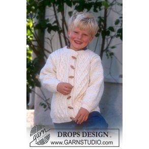 406e453a3343 Pige kjole i fine farver - gratis PDF strikkeopskrift - Børn - Tante ...