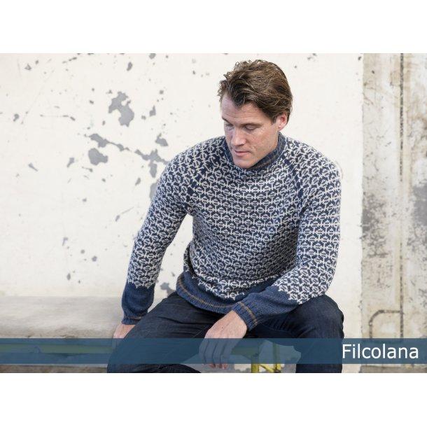 Flint herresweater - gratis PDF strikkeopskrift