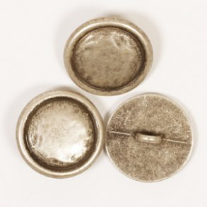 knapper i tin og metal/metal look