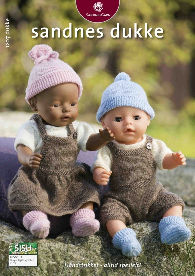 strikkeopskrifter baby hue