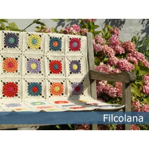 Garnpakker til strikket og hæklet tæpper og plaider